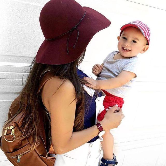 Motheric Soho Deri Bebek Bakım Çantası Hardal- motheric